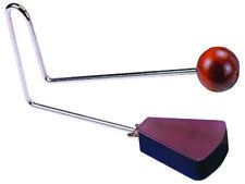 VIBRASLAP 11 Inch Metal handle Wooden Beater ABS Plastic Head