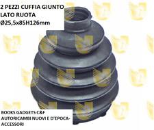 Kia Sorento (JC) 2002> Tutti i Mod. 2Pz Cuffia Giunto Lato Ruota Ø25,5x85H126mm