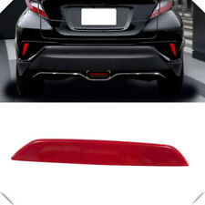 For Toyota C-HR CHR 2016-2019 Low-equipped Red Rear Break Light Reflector Trim