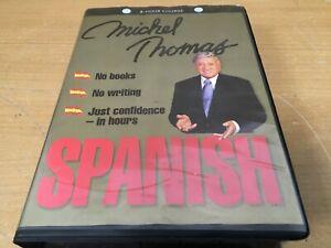 Michel Thomas Spanish 8 Hour Course CD SET
