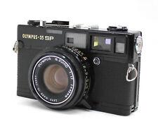 Olympus 35 SP 35mm Rangefinder Camera Black w/ G.Zuiko 42mm F1.7 Lens from Japan