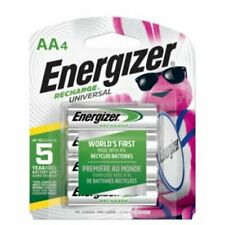 BRAND NEW ENERGIZER AA Rechargeable NiMH Batteries 4-Pack 2300 mAh