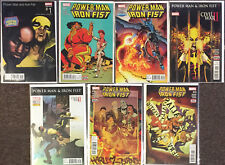 Power Man and Iron Fist # 1 3 4 7 8 12 13 Marvel Variant lot Hip Hop comics NM