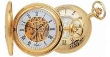 Woodford Men's 17 Jewel Gold Plated Mechanical Half Hunter Pocket Watch