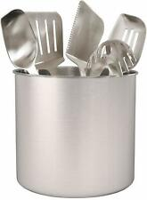 Estilo EST0286 Stainless steel Utensil Holder Jumbo - 7 X 7""