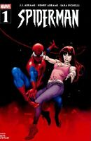 Spider-Man #1 (RARE Walmart Exclusive Variant Cover, Marvel Comics) 1st Printing