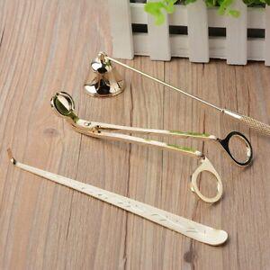 3tlg Yankee Candle Tools Dochttrimmer Kerzenschere Kerzenschirm Kerzenhaken Kit