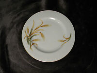 """PURITAN CHINA BREAD/BUTTER PLATE  IN WHEAT Pattern  made  in Japan 6 1/2"""""""