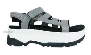 Teva Zamora Drizzle Grey Platform Sandals Womens Size 6 *NIB*
