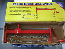Durable Heavy Duty Steel Engine Hoist Load Leveler with 2 Chains 1653 lb