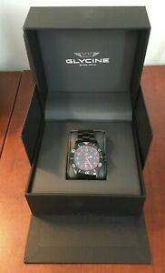Glycine Combat Sub Automatic Black Dial Men's Watch (GL0080)