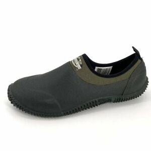 Lewis & Clark Mens Outdoor Muck Garden Soggs 13 Rubber Water Low Shoes EUC
