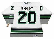 14eae8a81 GLEN WESLEY Hartford Whalers 1995 Home CCM Vintage Throwback NHL Hockey  Jersey