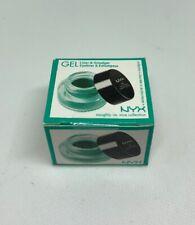 NYX Gel Liner & Smudger GLAS03 Danielle Matte Teal Brand New In Sealed Box