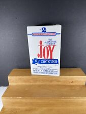 VTG 1974 The Joy of Cooking Cookbook 2 Paperback Box Set Signet Irma Rombauer