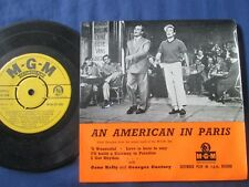 """Gene Kelly And Georges Guetary An American In Paris MGM-EP 580 Vinyl 7"""" Single"""