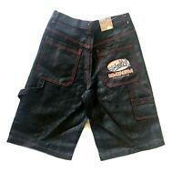 BNWT Eminem Slim Shady Men's Hip Hop Skater Denim Jean Shorts W 30 Vintage 90s