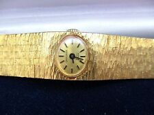 vintage ladies carronade mechanical watch, runs  sold as is