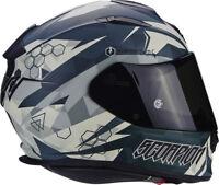 Scorpion exo510-air Cipher grün Motorrad Helm - klein Sicherheit
