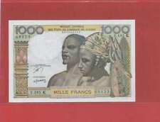 Etats de l'Afrique de l'Ouest Sénégal 1000 Francs   T.183