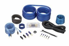 New listing Rockville Rwk21 2 Gauge Amp Installation Kit Anl Fuse Holder 100% Copper Rca