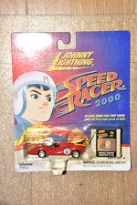 Johnny Lightning Speed Racer 2000 Red Captain Terror plus film cel art