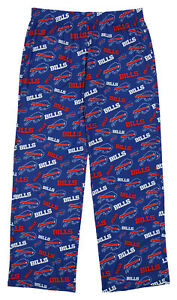 Forever Collectibles NFL Women's Buffalo Bills Repeat Print Logo Comfy Pants