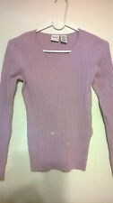 MENORA WOMEN'S BLOUSE CORAL PINK SIZE M, MADE IN UNITED KINGDOM ( U.K.)