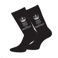 Keep Calm soy un arquitecto Para Hombre Calcetines Divertido Novedad calcetines que O Cumpleaños