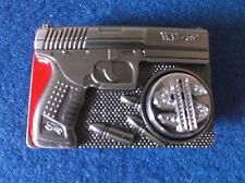 Revolver with swivel dollar sign Belt Buckle.