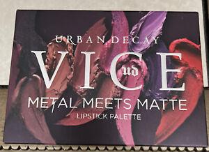 Urban Decay Metal Meets Matte Lipstick Palette NEW, Authentic