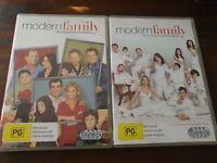 Modern Family - Season 1 & 2 - 8 Disc - Region 4 - VGC - DVD
