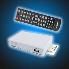 Edision Progressiv Hybrid nano FullHD Kabelreceiver DVB-C HDTV Edison weiß IPTV