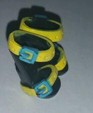 Monster High Gloom Beach Frankie Stein Yellow Blue Sandals Shoes