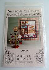 Art to Heart Seasons of the Heart Quilt Pattern - Summer