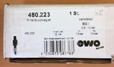 EWO Druckluft-Filterdruckminderer variobloc G 1/4 Zoll 480.223
