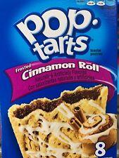 Kellogg's Pop Tarts Frosted Cinnamon Rolls Toaster Pastries 14 oz Box