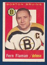 FERN FLAMAN 59-60 TOPPS 1959-60 NO 29 EXMINT+ 4