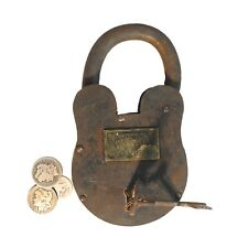 Tombstone Arizona Giant Pad Lock Rusty and Ready Huge 9.5 Inches Tall – 6 Pounds