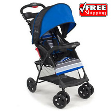 Kolcraft Cloud Sport Lightweight Baby Travel Stroller Blue Easy Compact Fold