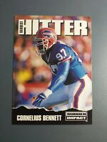 CORNELIUS BENNETT 1992 SKYBOX FOOTBALL CARD # 315 C2363