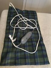 SUNBEAM Heating Pad. Large Size. Plaid. Works Great.