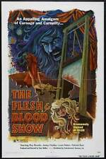 FLESH AND BLOOD SHOW Movie POSTER 27x40 Robin Askwith Candace Glendenning