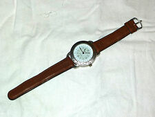 orologio Siecle Greenwich con fusi orari time zone nautica marine wristwatch