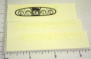 Tonka Airlines Tractor Sticker Set w/ Dash         TK-134
