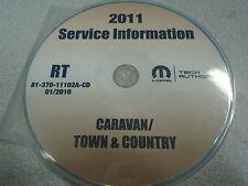 2011 DODGE CARAVAN & CHRYSLER TOWN & COUNTRY Service Shop Repair Manual CD DVD