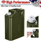 Jerry Can 5 Gallon Gas Gal Fuel NATO Military Metal Steel Tank Prepper 20L