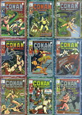 1996 Conan the Marvel Years Chromium 90 Card Set by Comic Images