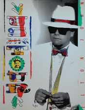 "ELTON JOHN - REG STRIKES BACK / U.S. TOUR 1988 - 11"" X 14"" TOURBOOK"