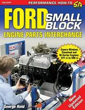 Ford Small-Block Engine Parts Interchange Book ~260 289 351W 351C 302 400M~ New